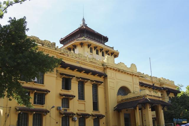 Những công trình kiến trúc Pháp cổ ở Hà Nội - Ảnh 16