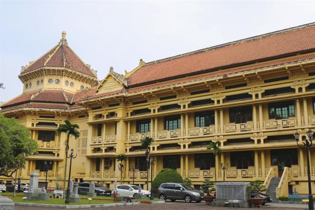 Những công trình kiến trúc Pháp cổ ở Hà Nội - Ảnh 3