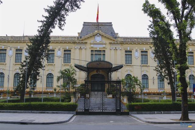 Những công trình kiến trúc Pháp cổ ở Hà Nội - Ảnh 5