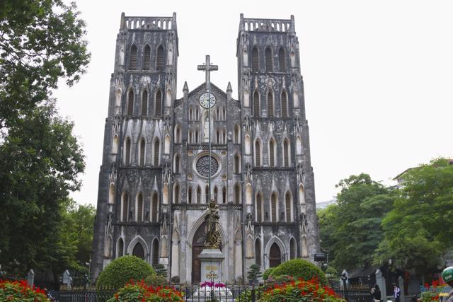 Những công trình kiến trúc Pháp cổ ở Hà Nội - Ảnh 8