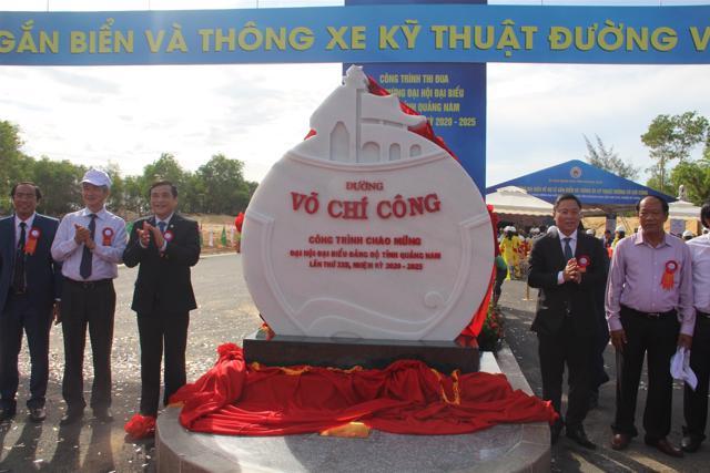 Quảng Nam đề xuất đầu tư 1.100 tỷ đồng hoàn thiện đường Võ Chí Công - Ảnh 3