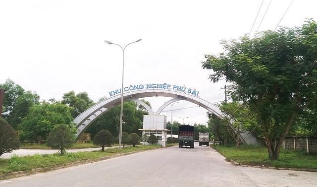 Công bố điều chỉnh quy hoạch phân khu xây dựng Khu công nghiệp Phú Bài - Ảnh 2