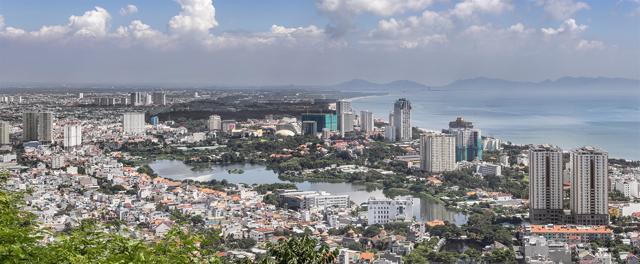 Thành phố Vũng Tàu dưới góc bay flycam - Ảnh 1