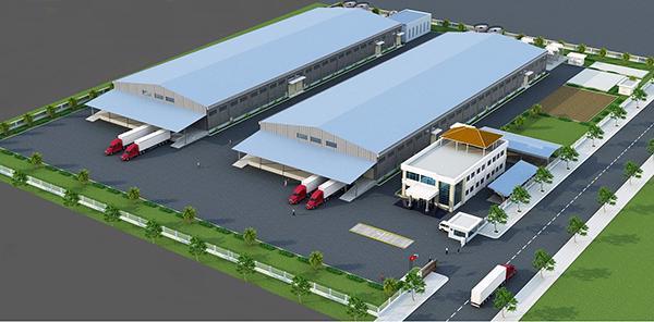 Phối cảnh nhà máy thép 500.000 tấn/năm sắp được Công ty CP Thép Dana - Ý xây dựng mới hoàn toàn tại KCN Hòa Khánh (Đà Nẵng).