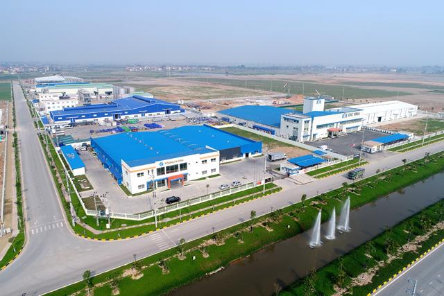 Bất động sản công nghiệp là điểm sáng thu hút dòng vốn FDI.