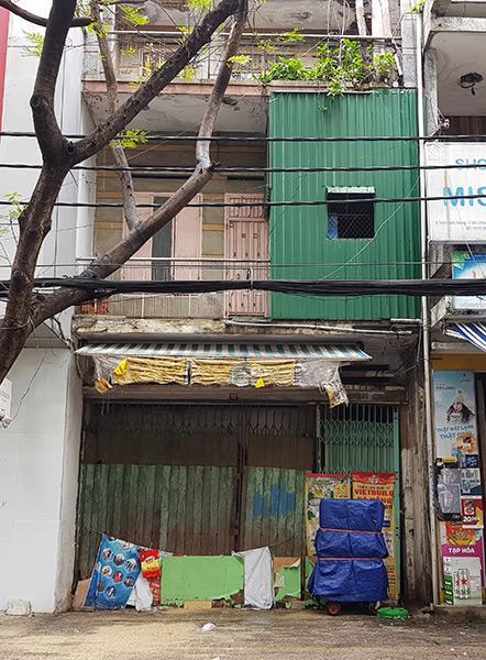 Các hộ dân trong khu tập thể số 10 Trần Bình Trọng đã được di dời đi nơi khác.