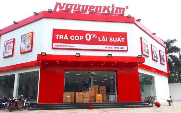 Một cơ sở siêu thị điện máy Nguyễn Kim