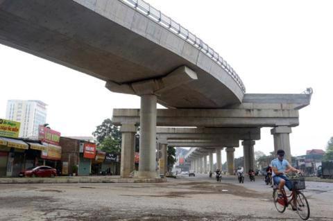 Những sai phạm tại dự án đường sắt đô thị Nhổn-Ga Hà Nội được phát hiện nhờ tố cáo của người dân. Ảnh:VNE