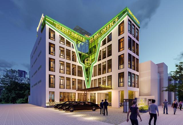 Hai công trình liền kề số 503 và 505 đường Hoàng Liên được cấp phép nhà ở riêng lẻ, nhưng được hợp khối thành một, và quảng cáo là dự án khu phức hợp văn phòng và khách sạn. Đây có phải là ý đồ qua mặt chính quyền Lào Cai?