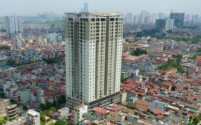 Tòa nhà HUD3 Tower 121 - 123 Tô Hiệu trước đây lấy tên làGolden Palace.
