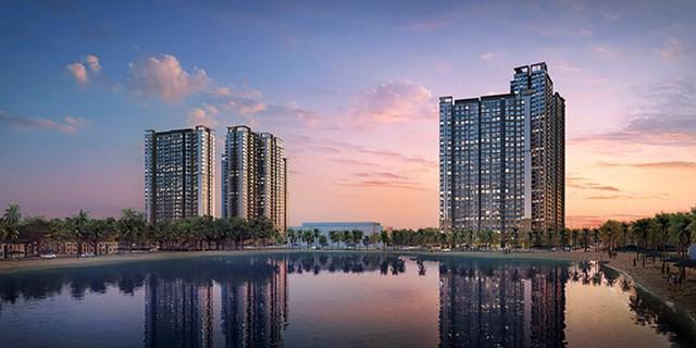Phối cảnh dự án Masteri Waterfront.