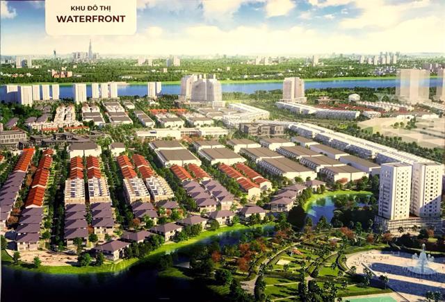 Phối cảnh dự án KĐTDự án Đồng Nai Waterfront City.