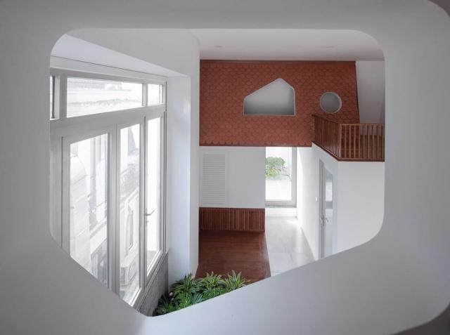 """Nhà Hà Nội """"thoáng như ở quê"""" nhờ kiến trúc hiện đại - Ảnh 5"""