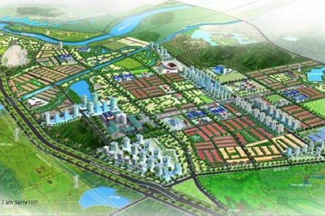 Phối cảnh dự án Khu đô thị thị trấn Lam Sơn, huyện Thọ Xuân, tỉnh Thanh Hóa.