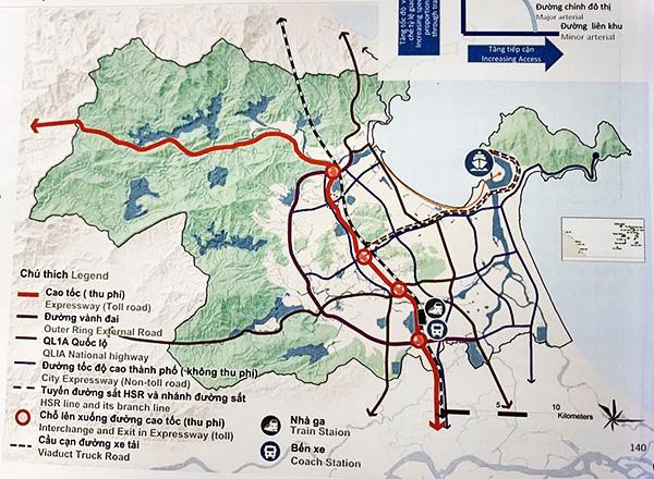 Quy hoạch xây dựng Khu bến cảng Liên Chiểu.