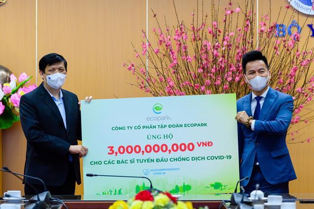 Ecopark dừng quảng cáo và sự kiện Tết để ủng hộ hàng tỷ đồng giúp Hải Dương chống Covid-19 - Ảnh 1