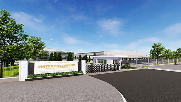 Phối cảnh dự án Nhà máy sản xuất vật liệu bán dẫn United States Enterprise (Hoa Kỳ) sẽ được UBND TP Đà Nẵng trao Giấy chứng nhận đăng ký đầu tư vào Khu Công nghệ cao Đà Nẵng chiều 23/2/2021.