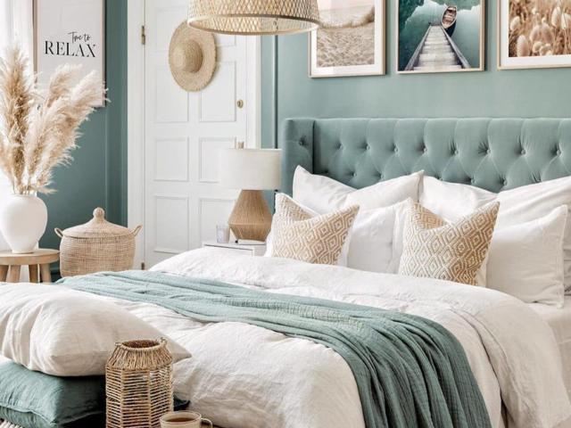 Màu xanh lá cây xô thơm được dự đoán sẽ trở thành xu hướng trong thiết kế nội thất phòng ngủ 2021