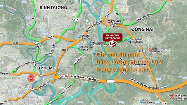 Hậu thâu tóm, Nam Long bất ngờ đổi tên dự án gần 10.000 tỷ Dong Nai Waterfront thành Izumi City - Ảnh 2
