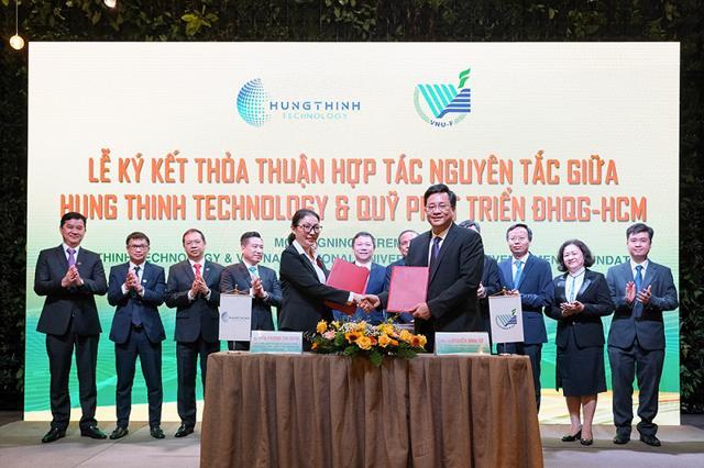 Tập đoàn Hưng Thịnh và Đại học quốc gia TP Hồ Chí Minh ký kết hợp tác chiến lược  - Ảnh 2