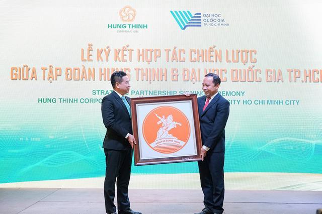 Tập đoàn Hưng Thịnh và Đại học quốc gia TP Hồ Chí Minh ký kết hợp tác chiến lược  - Ảnh 5