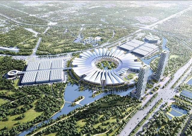 Trung tâm Hội chợ Triển lãm Quốc gia lớn thứ 5 thế giới do Vingrop làm chủ đầu tư.