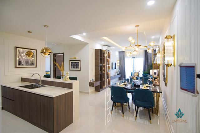 Căn hộ mẫu dự án Bien Hoa Universe Complex do Công ty Cổ phần Hưng Thịnh Land phát triển tại TP Biên Hòa, Đồng Nai.