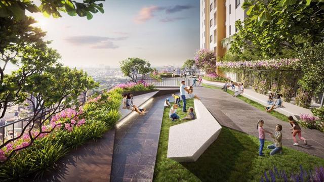 Sky Garden là một trong nhiều tiện ích hiện đại tại Bien Hoa Universe Complex, được kiến tạo dành riêng cho cư dân.