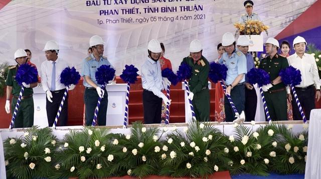 Sân bay Phan Thiết chính thức được khởi công vào ngày 5/4.