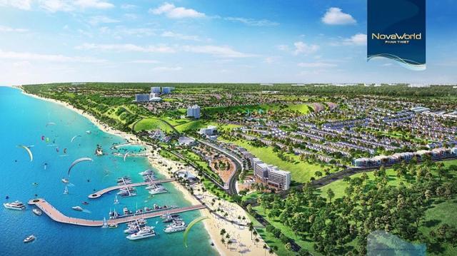 NovaWorld Phan Thiet quy mô 1.000ha của Novaland với hàng trăm tiện ích đẳng cấp quốc tế góp phần nâng tầm du lịch Bình Thuận.