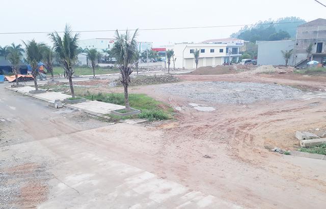 Đối với Khu công nghiệp Điềm Thụy, Công ty Phương Thùy đã được giao đất, nhưng xây dựng sai phép.