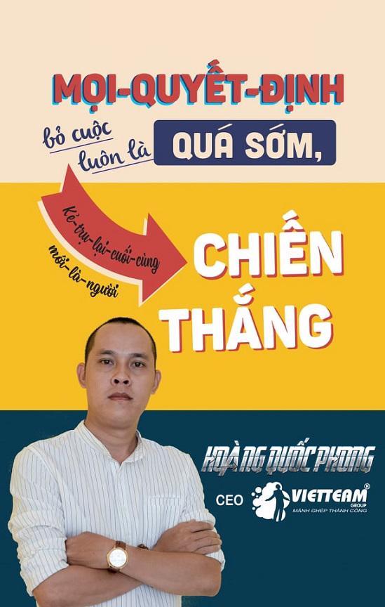 """CEO Hoàng Quốc Phong: """"Tôi cầm cố hai cuốn sổ đỏ của gia đình để lấy tiền duy trì công ty"""" - Ảnh 1"""