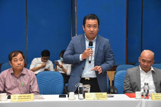 Ông Phạm Lâm - TGĐ DKRA Vietnam cho rằng cần có giải pháp quyết liệt hơn trong việc quy hoạch, định vị lại nghề môi giới bất động sản.
