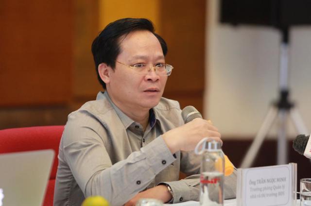 Ông Trần Ngọc Minh, Trưởng phòng Quản lý nhà và Thị trường Bất động sản.