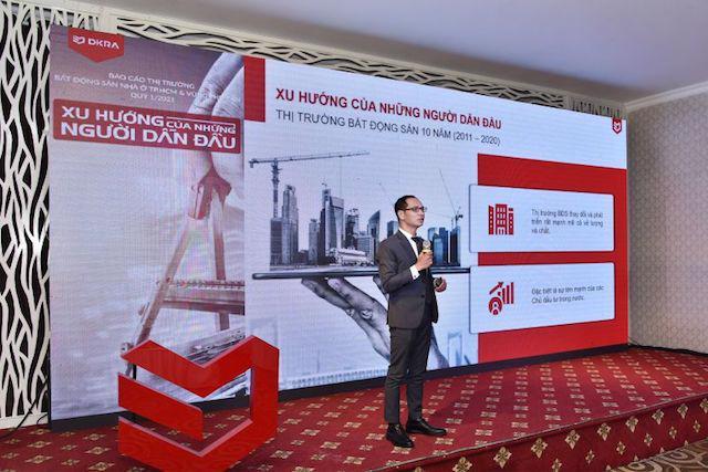 Theo ông Nguyễn Hoàng - Giám đốc R&D DKRA Vietnam, Long An trở thành địa phương dẫn đầu về nguồn cung, tỷ lệ tiêu thụ và giá bán toàn thị trường.