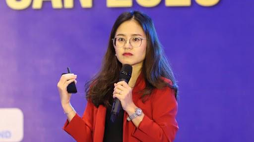 Bà Nguyễn Hồng Vân – Giám đốc Thị trường Hà Nội của JLL Việt Nam