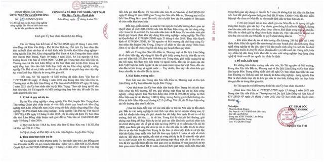 """Lâm Đồng: Dự án Khu Công nghiệp – Nông nghiệp Tân Phú """"chết yểu"""" do không có nhà đầu tư - Ảnh 1"""