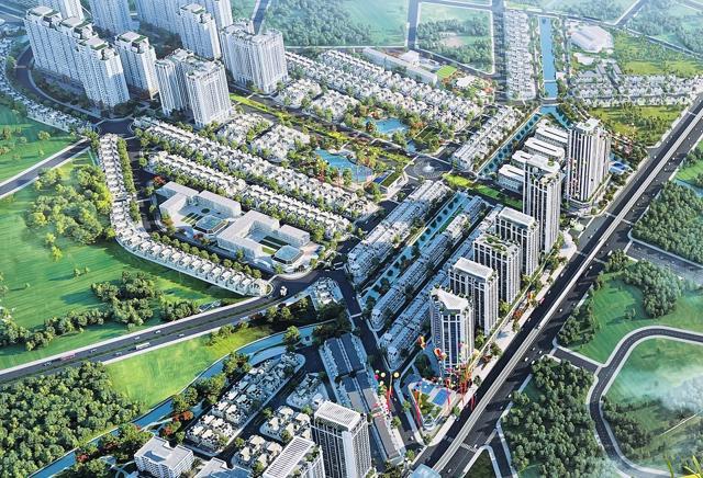 Dự án KĐT An Lạc Green Symphony xây dựng không phép: Sở Xây dựng vào cuộc - Ảnh 2