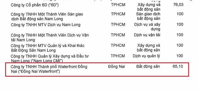 Quý I/2021: Nam Long báo lãi hơn 366 tỉ đồng, thâu tóm xong dự án Waterfront Đồng Nai - Ảnh 3
