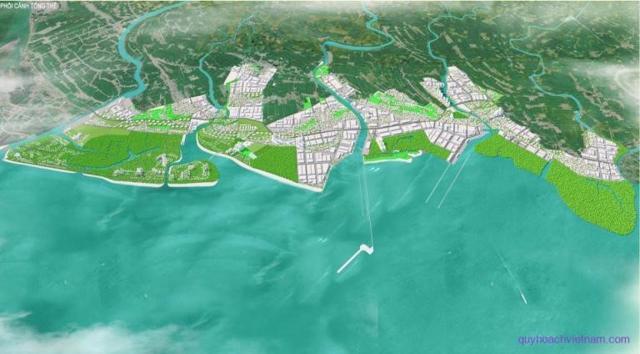 Quy hoạch không.gian khu kinh tế ven biển Thái Bình