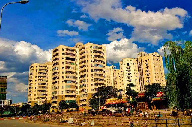 Một góc đô thị Nam Trung Yên. (Ảnh: Phan Văn Toàn)