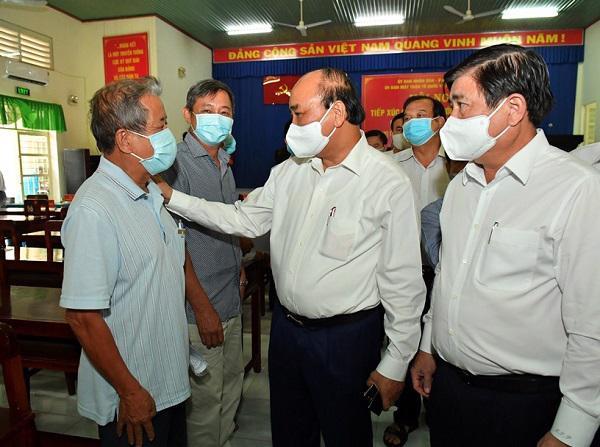 Chủ tịch Nước Nguyễn Xuân Phúc: Sẽ sớm xây dựng tuyến cao tốc TPHCM - Mộc Bài - Ảnh 1