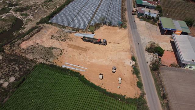 Khu đất được quảng cáo dưới tên dự án Riverside Golden Field