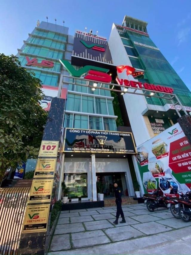Trụ sở chính của VsetGroup tại 107 Cộng Hòa, phường 12, quân Tân Bình, TP Hồ Chí Minh