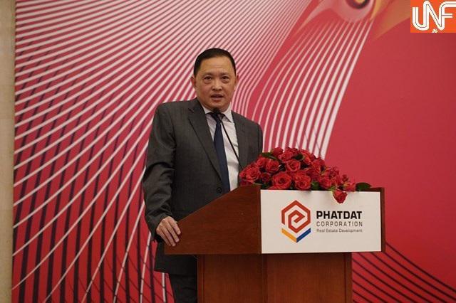 Ông Nguyễn Văn Đạt, Chủ tịch HĐQT Công ty Cổ phần Phát triển Bất động sản Phát Đạt.
