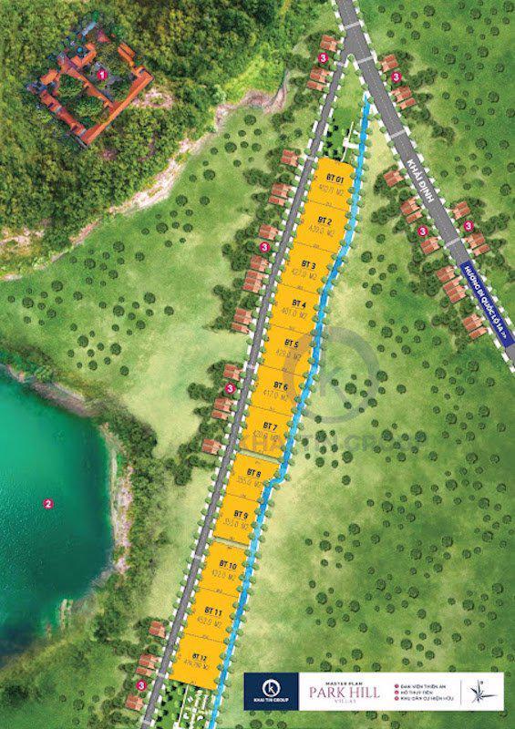 """Dự án """"ma"""" Park Hill Villas do Công ty Khải Tín vẽ ra."""