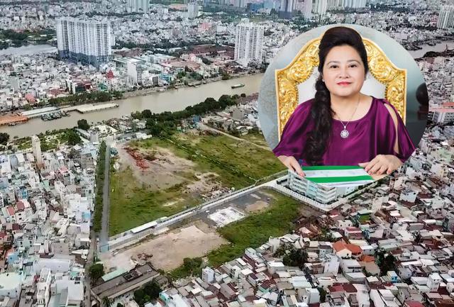 Nhiều dự án của đại gia Nguyễn Thị Phước tọa lạc ở các khu đất vàng TP.HCM vẫn đang vướng pháp lý
