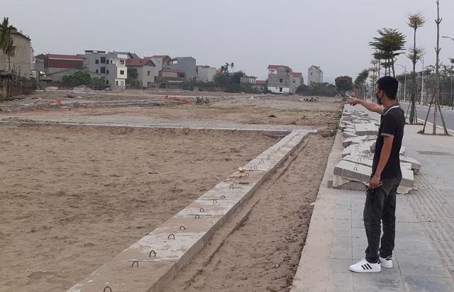 """Thời gian qua, thị trường bất động sản Bắc Ninh """"cơn sốt"""" giá đất đang được đẩy rất cao, có những dự án tăng 20 - 30%."""