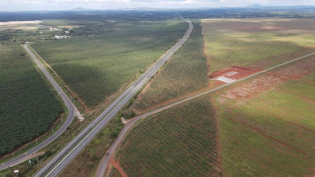 Đường tỉnh 769 (bên trái) là tuyến đường đóng vai trò giải tỏa áp lực giao thông khi sân bay Long Thành đi vào khai thác cũng như kết nối các khu công nghiệp Dầu Giây, Lộc An - Bình Sơn.