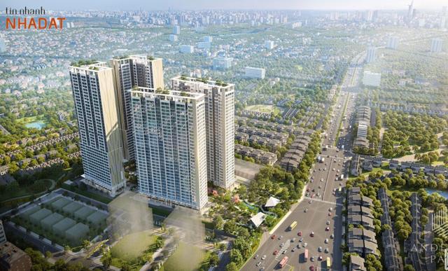 Phối cảnh dự án Lavita Thuận An của Hưng Thịnh.